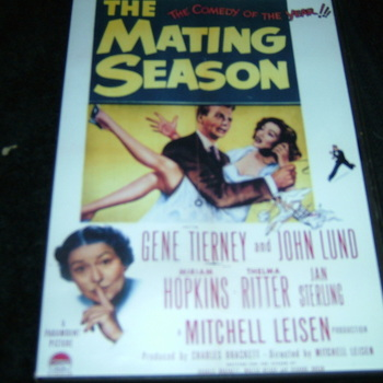 THE MATING SEASON 1951 DVD