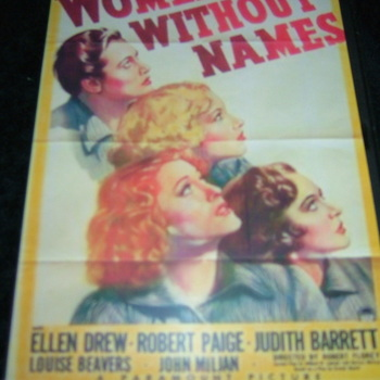 WOMEN WITHOUT NAMES 1940 DVD