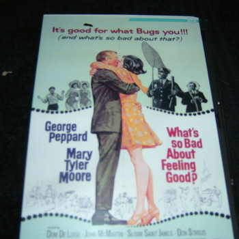 WHAT'S SO BAD ABOUT FEELING GOOD 1968 DVD