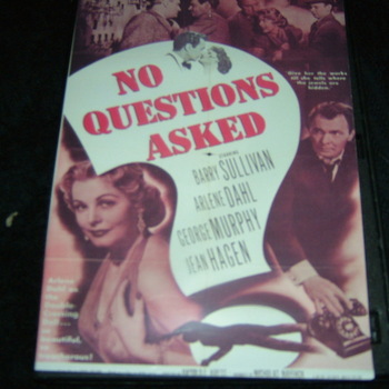 NO QUESTIONS ASKED  1951 DVD