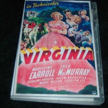 VIRGINIA 1941 DVD