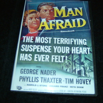 MAN AFRAID 1957 DVD