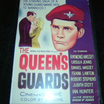 THE QUEEN'S GUARDS 1961 DVD