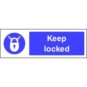 Keep locked