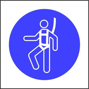 Safety harness pictorial only