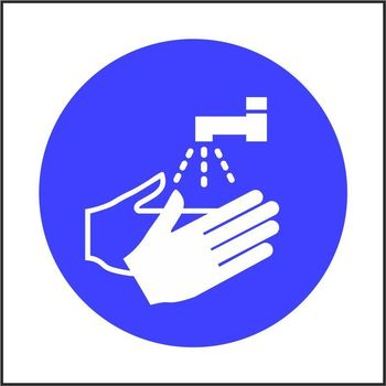 Wash your hands pictorial only