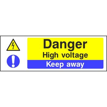 Danger High voltage Keep away