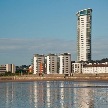 Meridian Tower Swansea