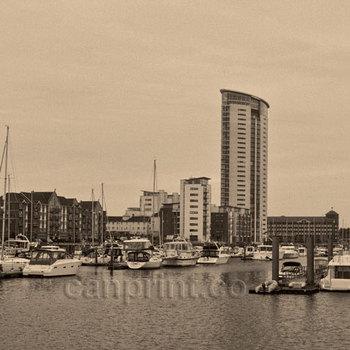 Tug Boat Canning Swansea Marina