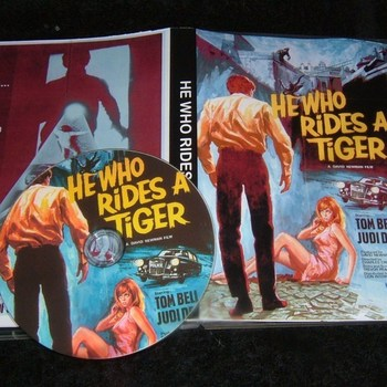 he who rides a tiger 1965 dvd tom bell judi dench