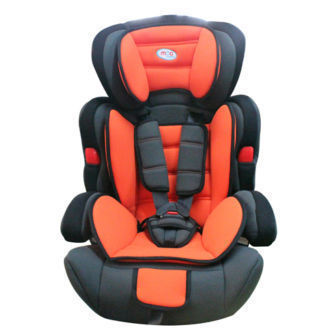 Mcc 3 in 1 Orange Baby Car Booster Seat For Group 1/2/3 9-36kg