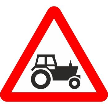 Beware of Agricultural Vehicles