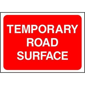 Temporary Warning - Road Traffic