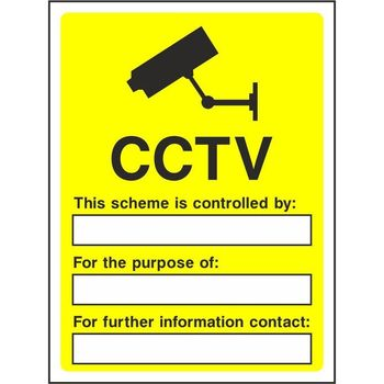 CCTV This scheme is controlled by