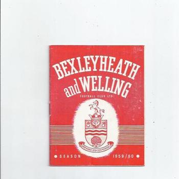 Bexleyheath & Welling v Ashford Town 1959/60 Reserves