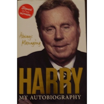 Signed Harry Rednapp Autobiography