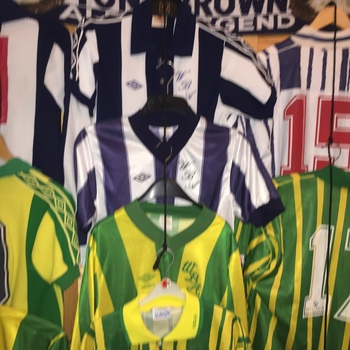 West Bromwich Albion Collection 70's to 99
