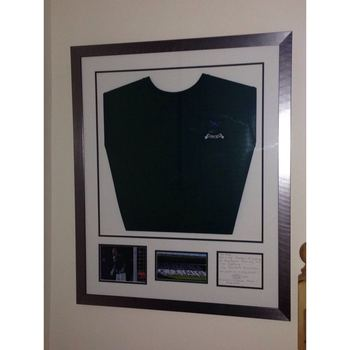 Astle Match Day Signed Mtch Worn Shirts