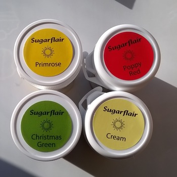 Sugarflair Tartranil Paste Colour - 25g (various colours available)
