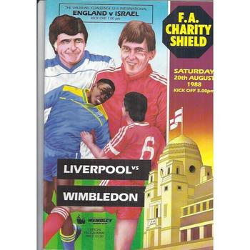 Charity Shield Final Football Programmes