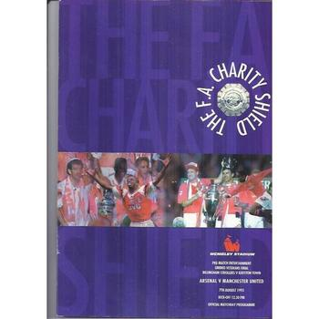 Arsenal v Manchester United Charity Shield 1993