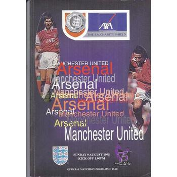 Arsenal v Manchester United Charity Shield 1998