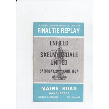 Enfield v Skelmersdale United Amateur Cup Final Replay 1967 @ Manchester City