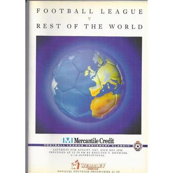 Football League v Rest of the World Mercantile Credit 1987