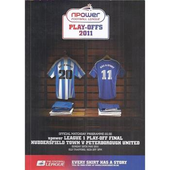 Huddersfield Town v Peterborough United Play Off Final 2011