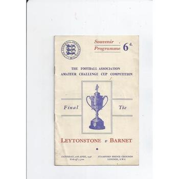 Leytonstone v Barnet 1948 Amateur Cup Final @ Chelsea