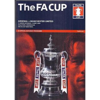 Arsenal v Manchester United FA Cup Semi Final 2004