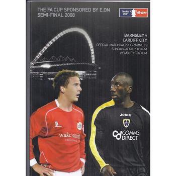 Barnsley v Cardiff City FA Cup Semi Final 2008