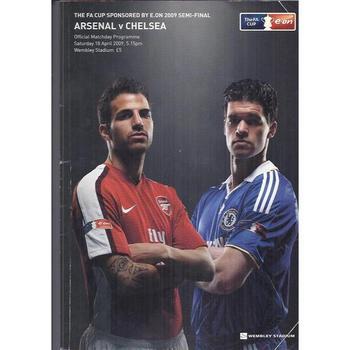 Arsenal v Chelsea FA Cup Semi Final 2009