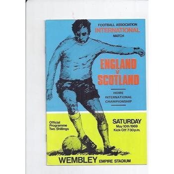 England v Scotland 1969