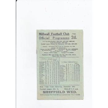 Millwall v Newcastle United 1947/48