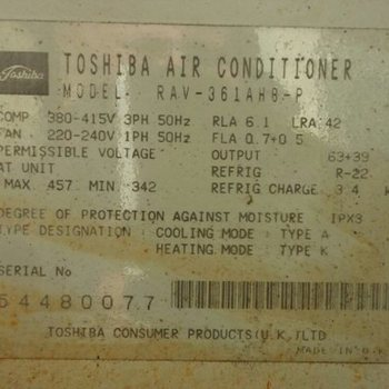R22 Refrigerant - Replacement of old R22 A/C systems