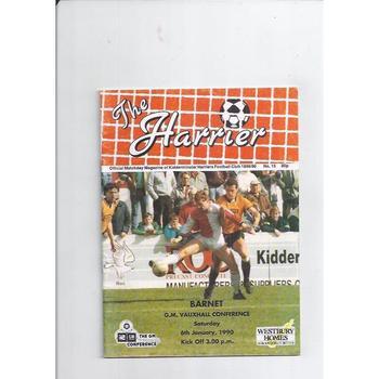 Kidderminster Harriers v Barnet 1989/90