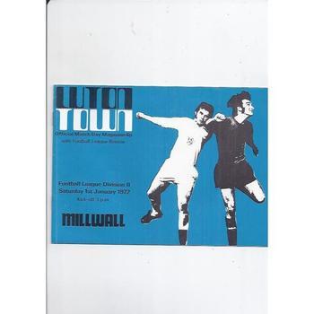 Millwall Away Football Programmes