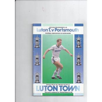 Portsmouth Away Football Programmes