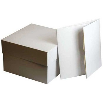 Cake Boxes Base & Lid ( A variety of sizes available )