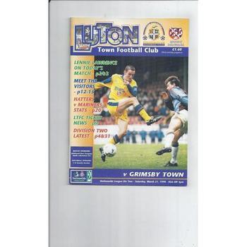 Luton Town Home Football Programmes