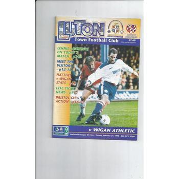 Wigan Athletic Away Football Programmes