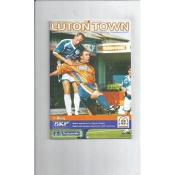 Bury Football Programmes