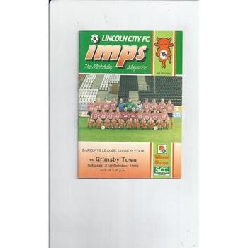 Lincoln City Home Football Programmes