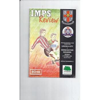 Doncaster Rovers Football Programmes