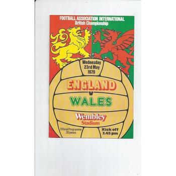 England v Wales 1979
