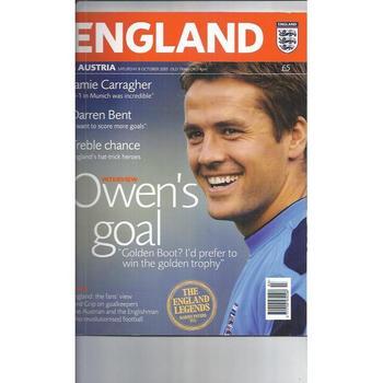 England v Austria 2005