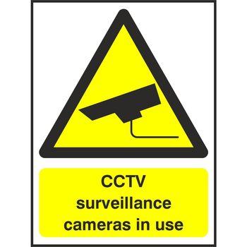 CCTV surveillance cameras in use