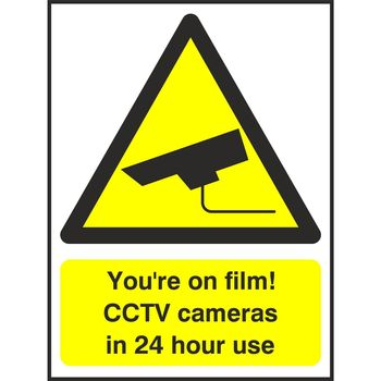 You're on film! CCTV cameras in 24 hour use