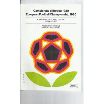 Euro 1980 Official Football Programme